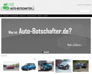Vorschaubild dese Auto-Botschafter Online Shop für Vertragshändler